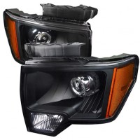1988 Ford F150 Halo Headlights