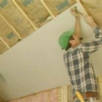 Hanging Drywall On Sloped Ceiling