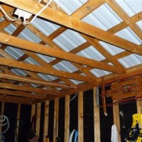 Insulate Garage Ceiling Rafters