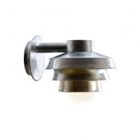 Nordlux Elements Galvanised Outdoor Wall Light Silver